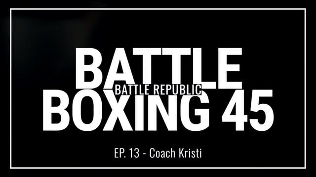 Episode 13: Coach Kristi