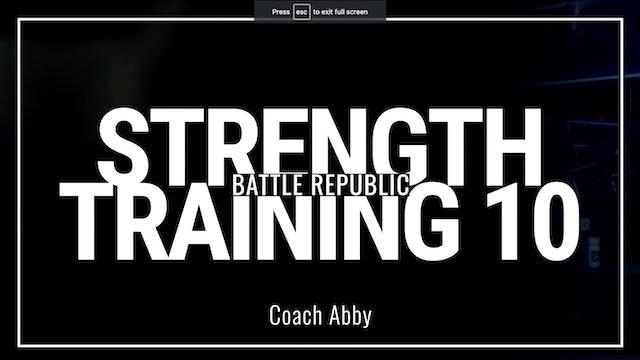 Episode 10: Coach Abby