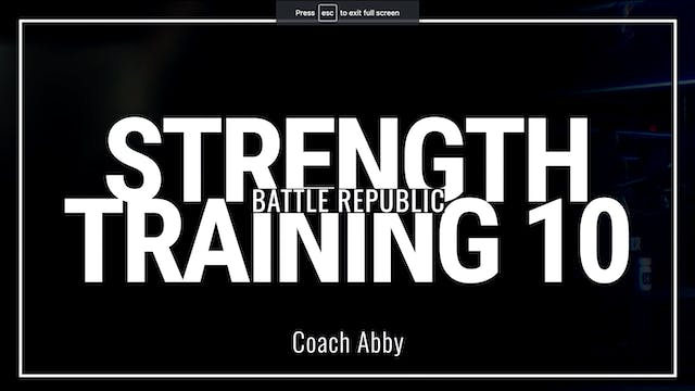 Episode 10: Coach Abby