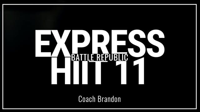 Episode 11:  Coach Brandon