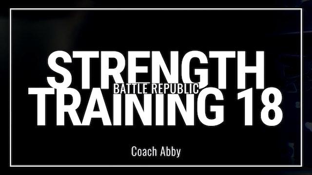 Episode 18: Coach Abby