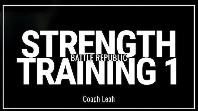 Episode 1: Coach Leah
