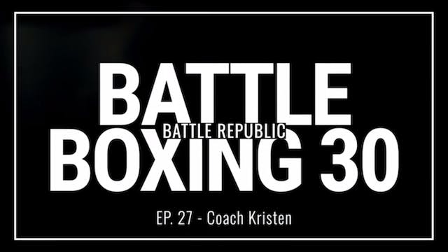 Episode 27: Coach Kristen