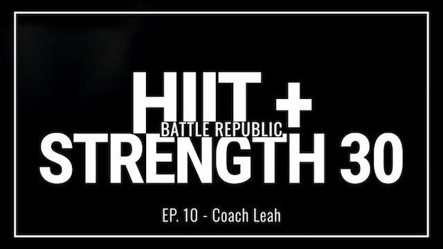 Episode 10: Coach Leah
