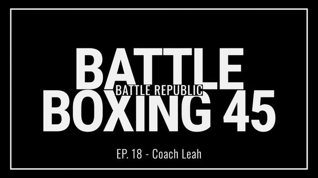 Episode 18: Coach Leah