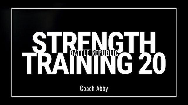 Episode 20: Coach Abby