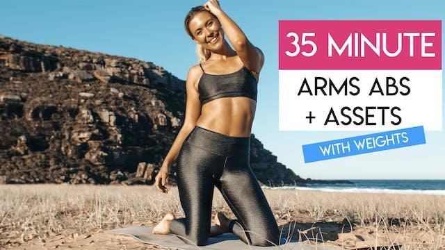 35 MIN ARMS + ABS + BUTT CARDIO TONE