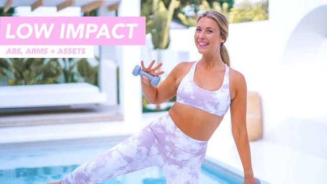 35 MIN LOW IMPACT CARDIO ABS, ARMS + ...