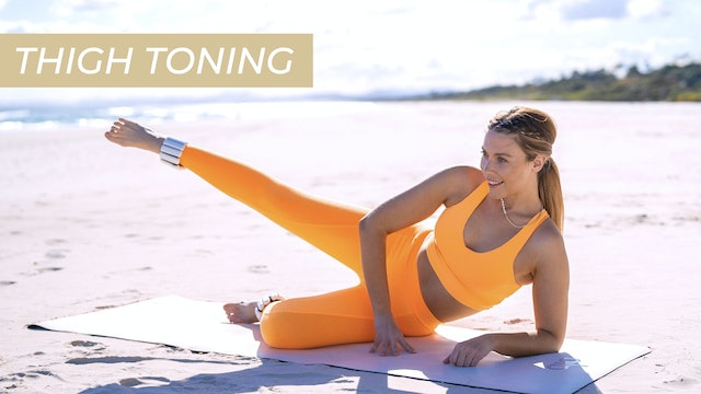 DAY 5 - TONED THIGHS MAT CARDIO