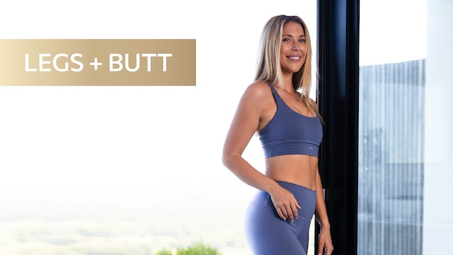 30 MIN LOW IMPACT CARDIO FOR LEAN LEGS + ROUND BOOTY (ANKLE WEIGHTS)