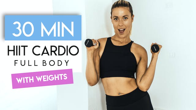 30 MIN FULL BODY HIIT CARDIO