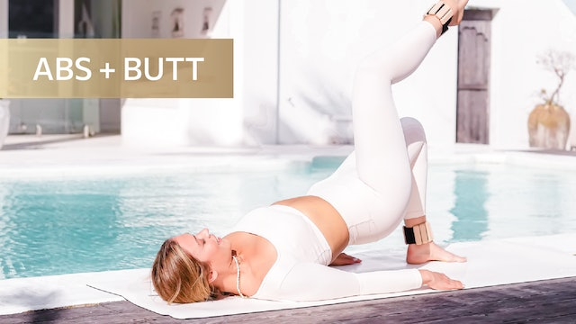 10 MIN ABS + BOOTY TONING QUICKIE (NO EQUIPMENT)