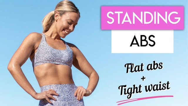 10 MIN STANDING ABS TONING