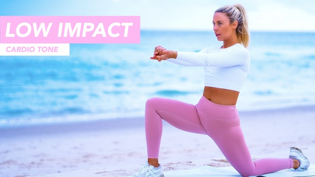 30 MINUTE LOW IMPACT CARDIO CLASS (ANKLE WEIGHTS OPTIONAL)