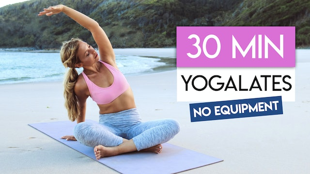 30 MIN YOGA SCULPT AND STRETCH
