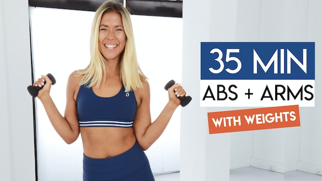 35 MIN ABS + ARMS TONING