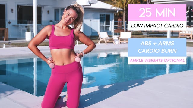 25 MIN LOW IMPACT CARDIO ABS + ARMS (...