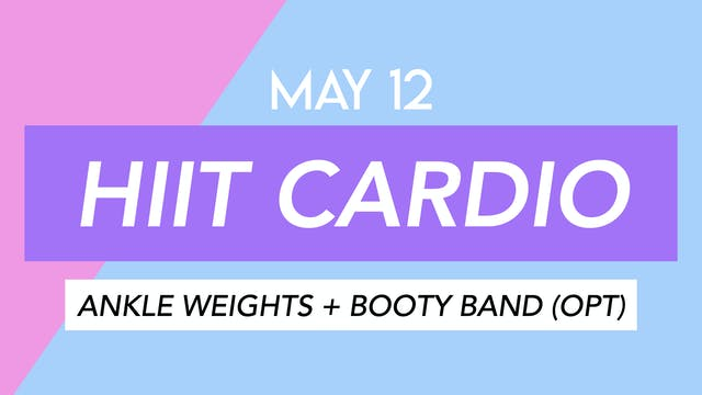 May 12 - 30 MIN HIIT PILATES ARMS ABS...