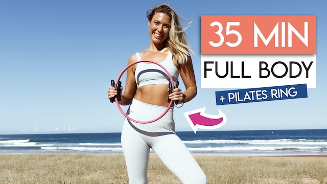35 MIN FULL BODY TONING WITH PILATES RING