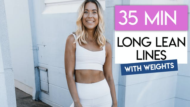 35 MIN ABS + THIGHS TONING