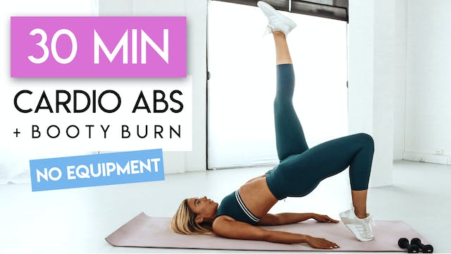 30 MIN ABS + BUTT HIIT PILATES