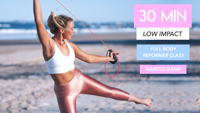 30 MIN LOW IMPACT CARDIO WITH THE HANDLE BAND