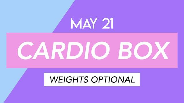 MAY 21 - 30 MIN FULL BODY BOXING PILATES
