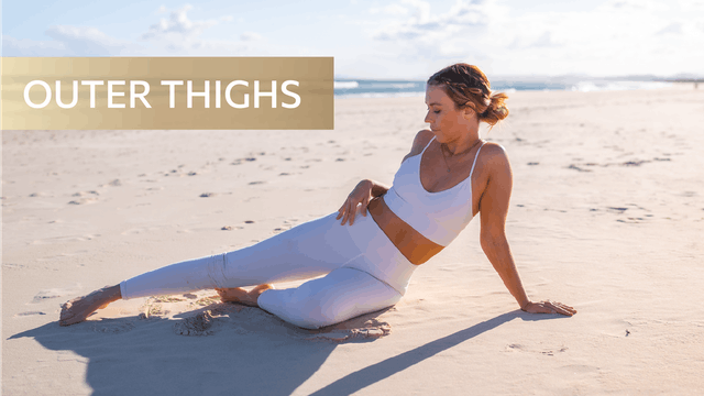 8 MIN OUTER THIGH TONING (WEIGHTS OPTIONAL)