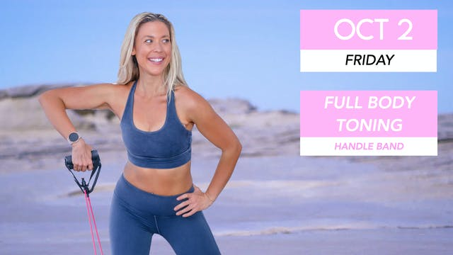 OCT 2 - 30 MIN ABS + ARMS TONING (HAN...