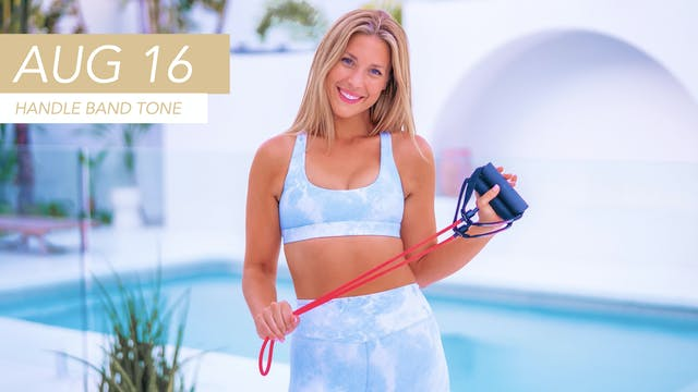 AUG 16 - 30 MIN ABS + ARMS TONING (HA...
