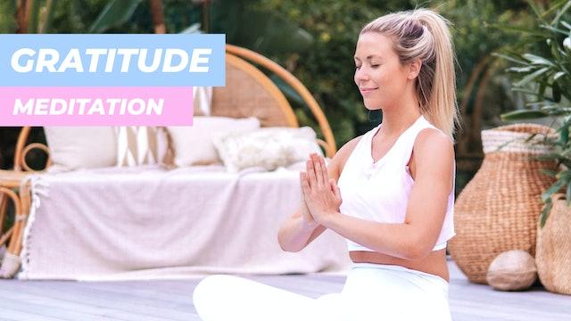 10 MIN MEDITATION - FOR GRATITUDE & A POSITIVE MINDSET