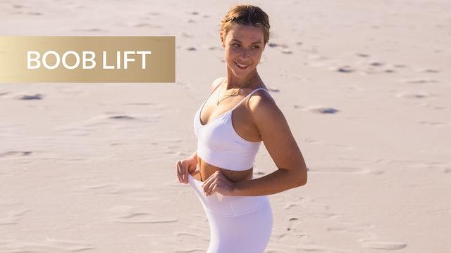 8 MIN BOOB LIFT + ARM BURN (WEIGHTS OPTIONAL)