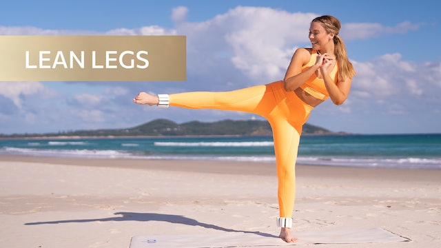 8 MIN LEAN LEGS TONING (WEIGHTS OPTIONAL)