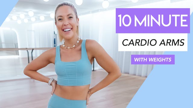 10 MIN ARMS LOW IMPACT CARDIO TONING ...