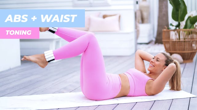 DAY 4 - 15 MIN ABS + WAIST TONING