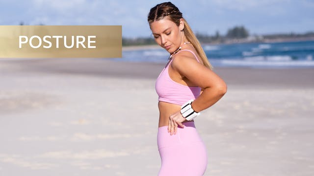 10 MIN POSTURE PERFECT BACK + ARMS