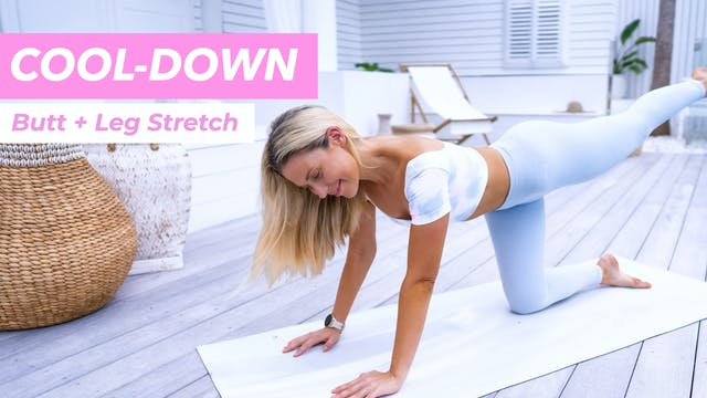 COOL DOWN - QUICK LOWER BODY STRETCH