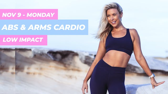NOV 9 - 30 MIN LOW IMPACT CARDIO ABS ...