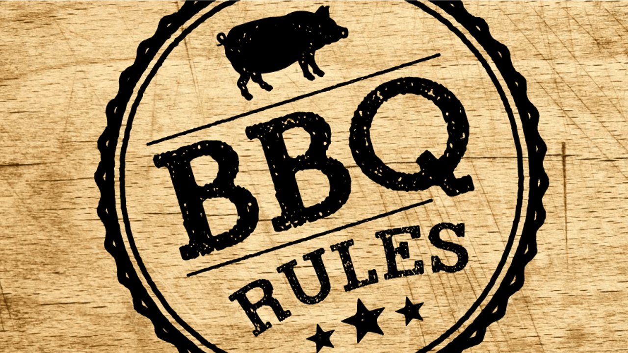 BBQ RULES: PORK SHOULD AND CHOP