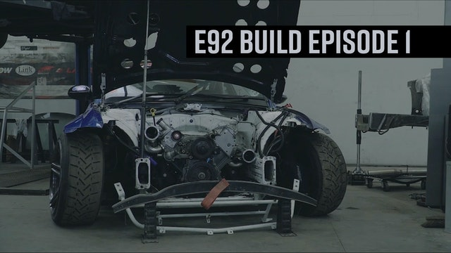 BDC BMW E92 Build Episode 1
