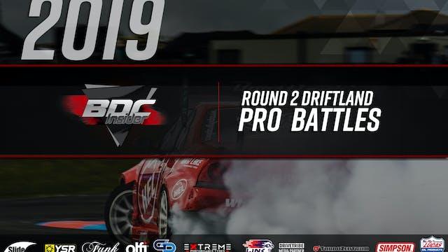 Driftland Round Two 2019 - Pro Battles