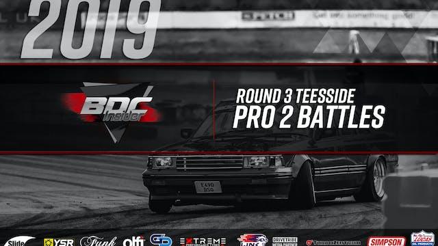 Teesside Round Three 2019 - Pro 2 Bat...