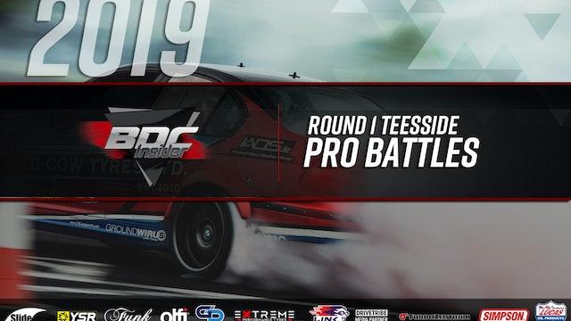 Teesside Round One 2019 - Pro Battles