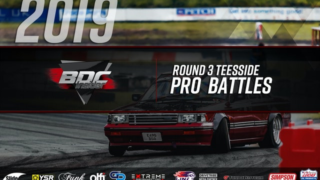Teesside Round Three 2019 - Pro Battles