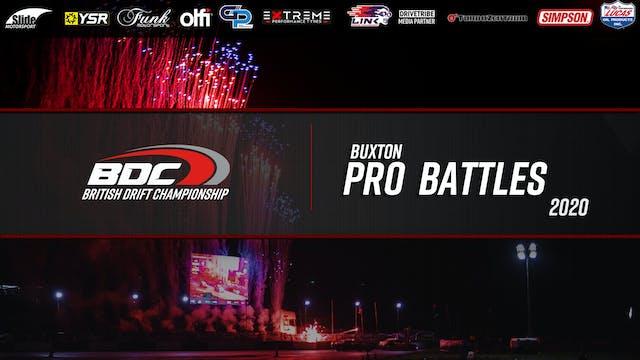 Buxton - Round Four - Pro Battles