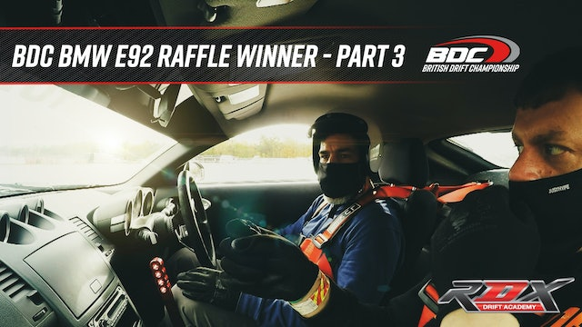 BDC BMW E92 Raffle Winner - Part 3