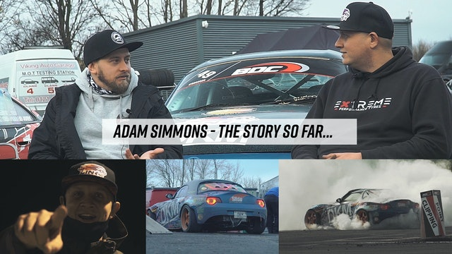 Adam Simmons: The Story So Far...