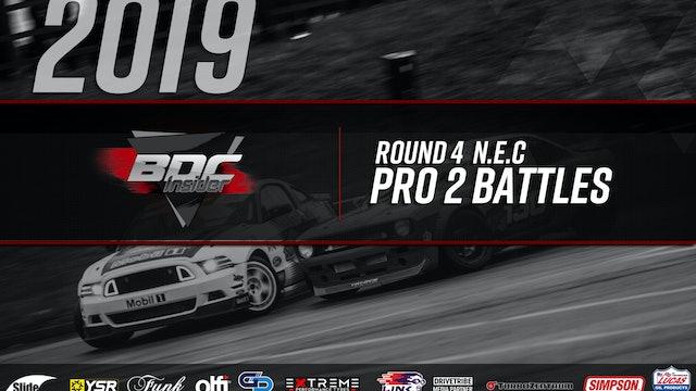 NEC Round Four 2019 - Pro 2 Battles