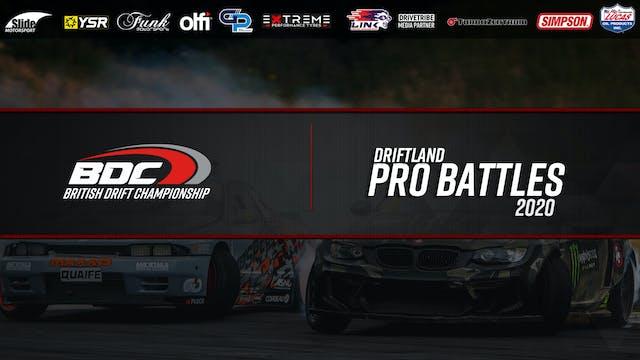 Driftland  - Round One 2020 - Pro Bat...