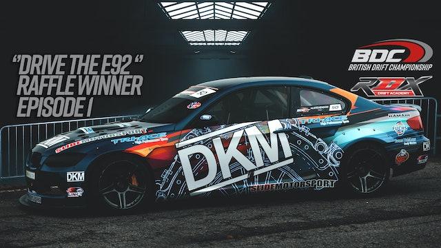 BDC BMW E92 Raffle winner